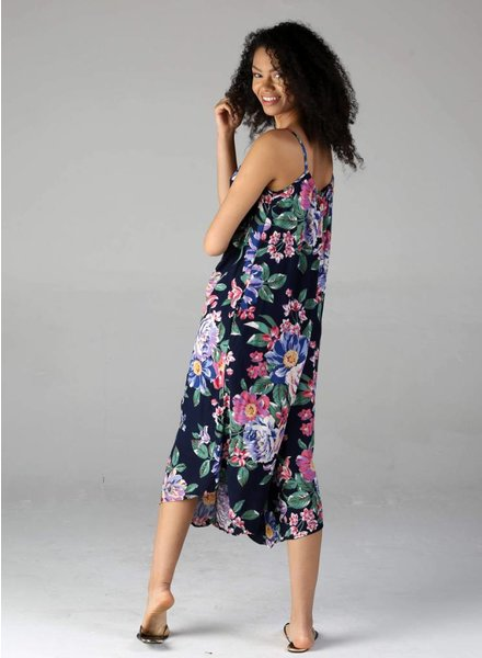 Star of India Angie Floral Gaucho Jumpsuit (Q5S53)