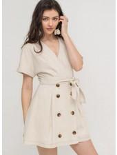 LUSH Front Button Dress (LD42706-CI)