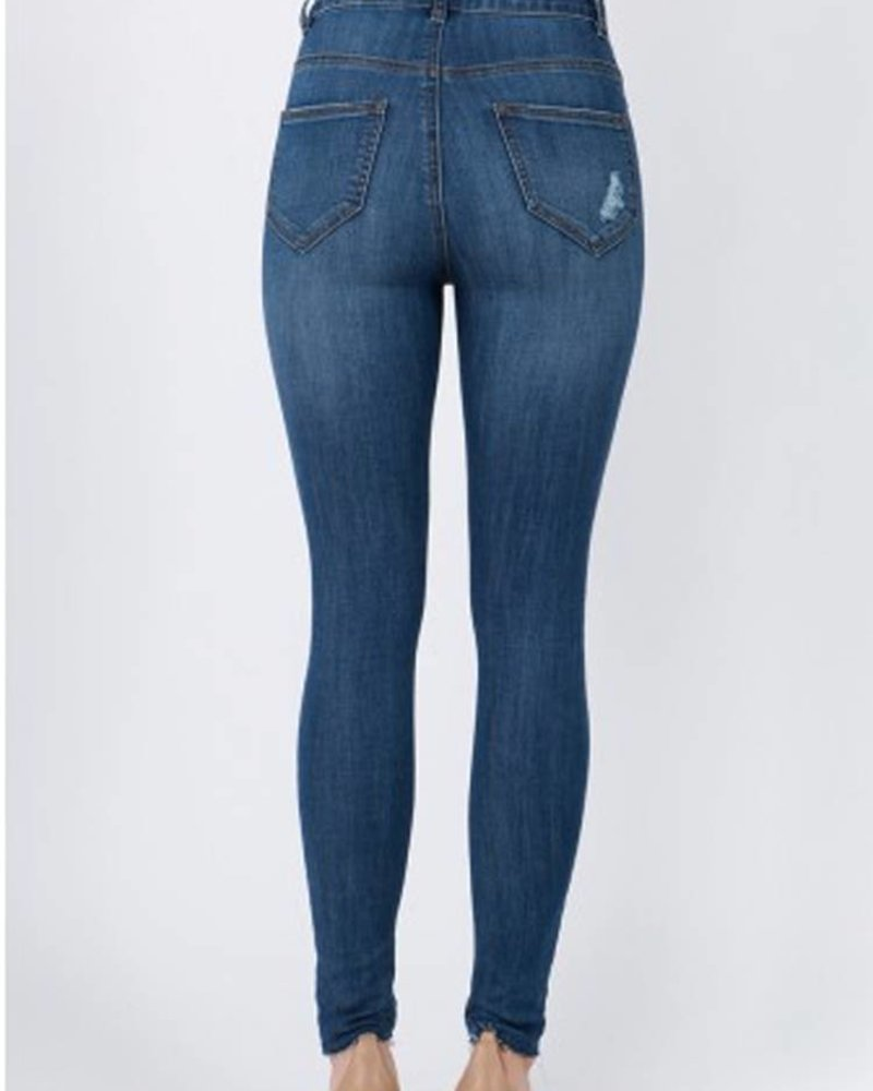 Signature 8 Stretch Denim Skinny Jean (S8277EQC)