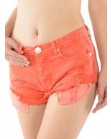 Signature 8 Low Waist Cut-Off Shorts (S8133C)