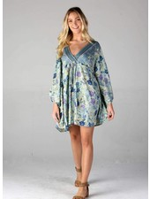 Angie Kaftan Dress (F4458)