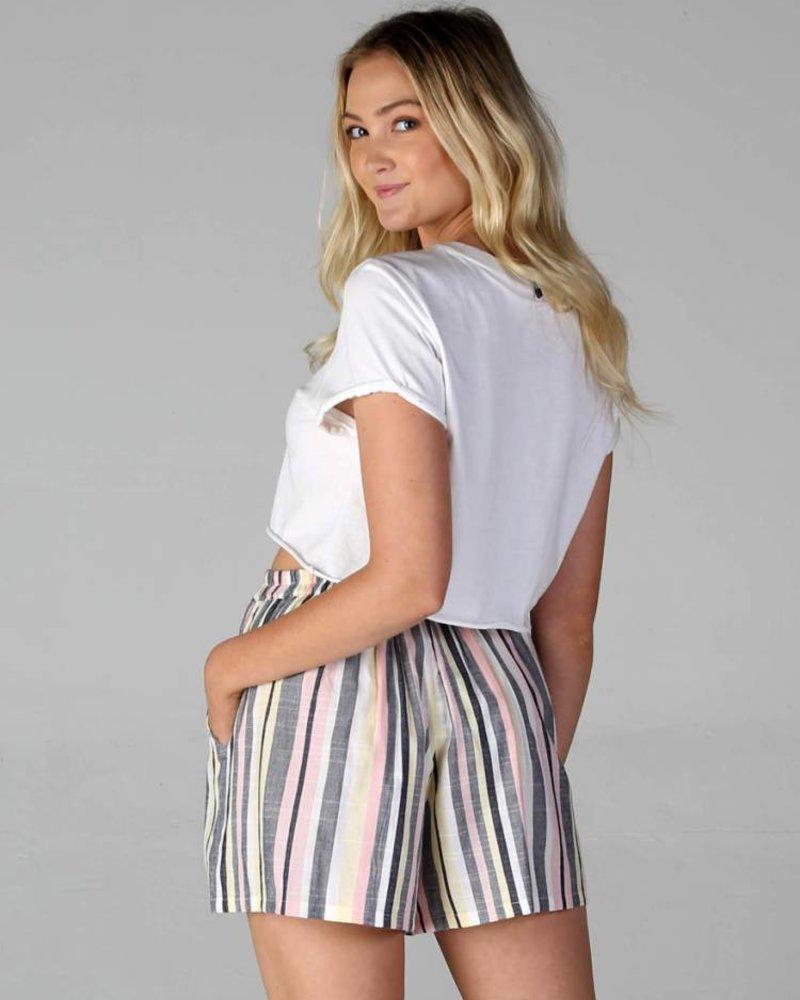 Angie Tie Waist Short (25P66)