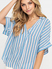 LUSH Collared Boxy Tunic Top (T14516D-CI)