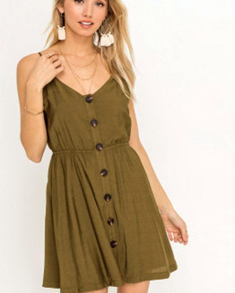 LUSH Bow Back Mini Dress (LD42724-CI)