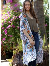 Angie Printed Kimono (BJ612)