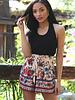 Angie Self Belt Shorts (25Q77)
