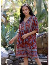 Angie Button Bust Babydoll Dress (B4NN3)
