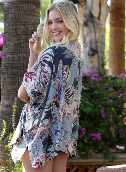 Angie Printed Kimono (P2M54)