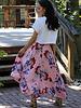 Angie Hanky Hem Skirt (B6864)