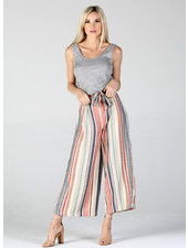 Angie Gaucho Pant With Tie Waist (25P45)
