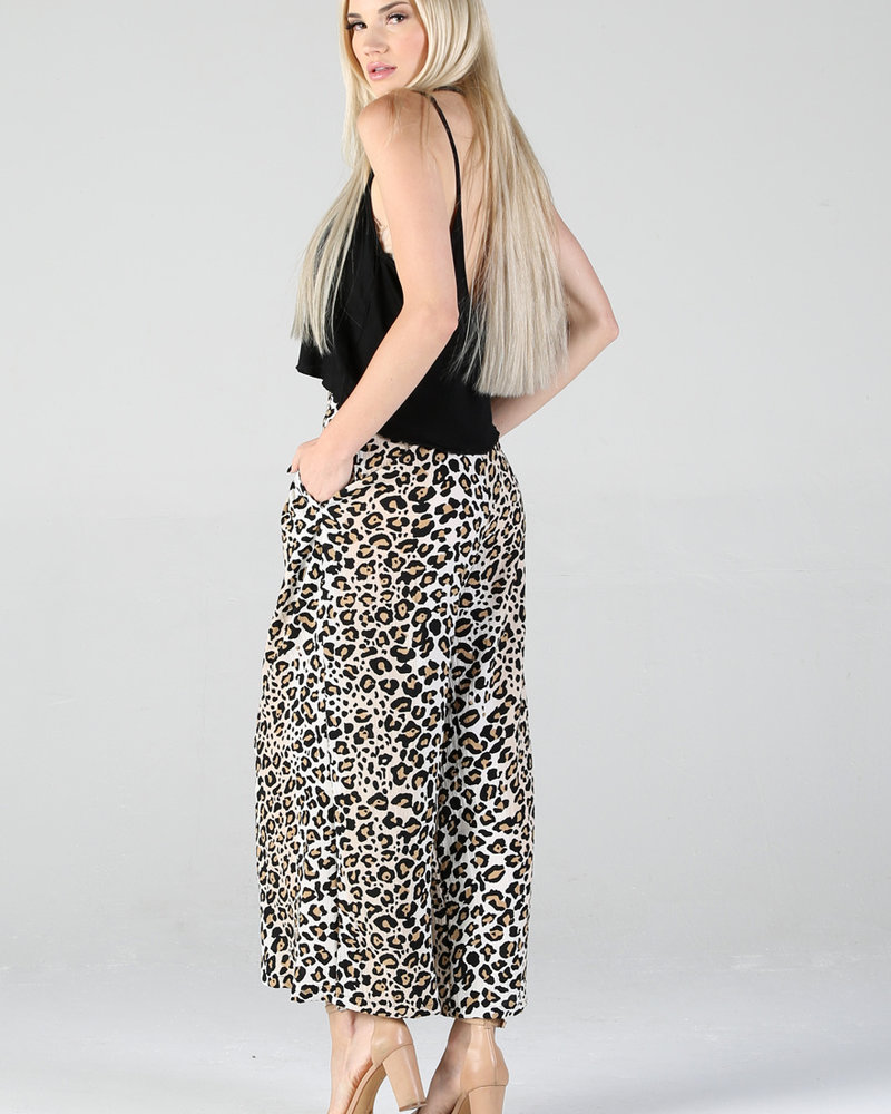 Angie Button Cropped Pant (25Q66)