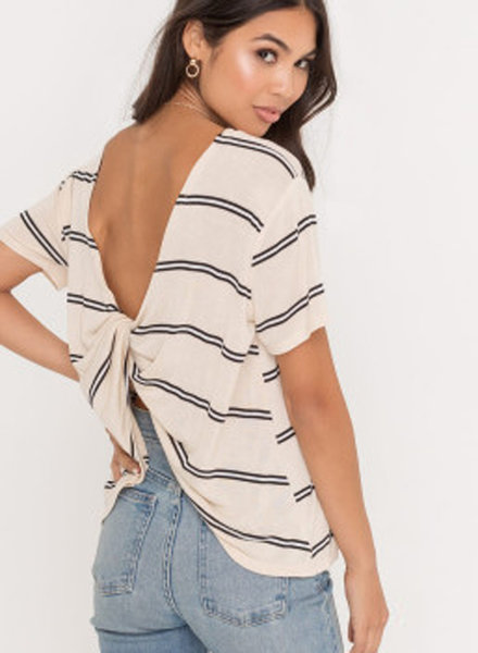 LUSH Twisted Back Top (T14714)