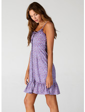 Angie Spaghetti Strap Button Down Dress (B4PP3)