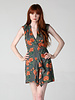 Angie Faux Wrap Dress with Built in Skirt (B4LL7)