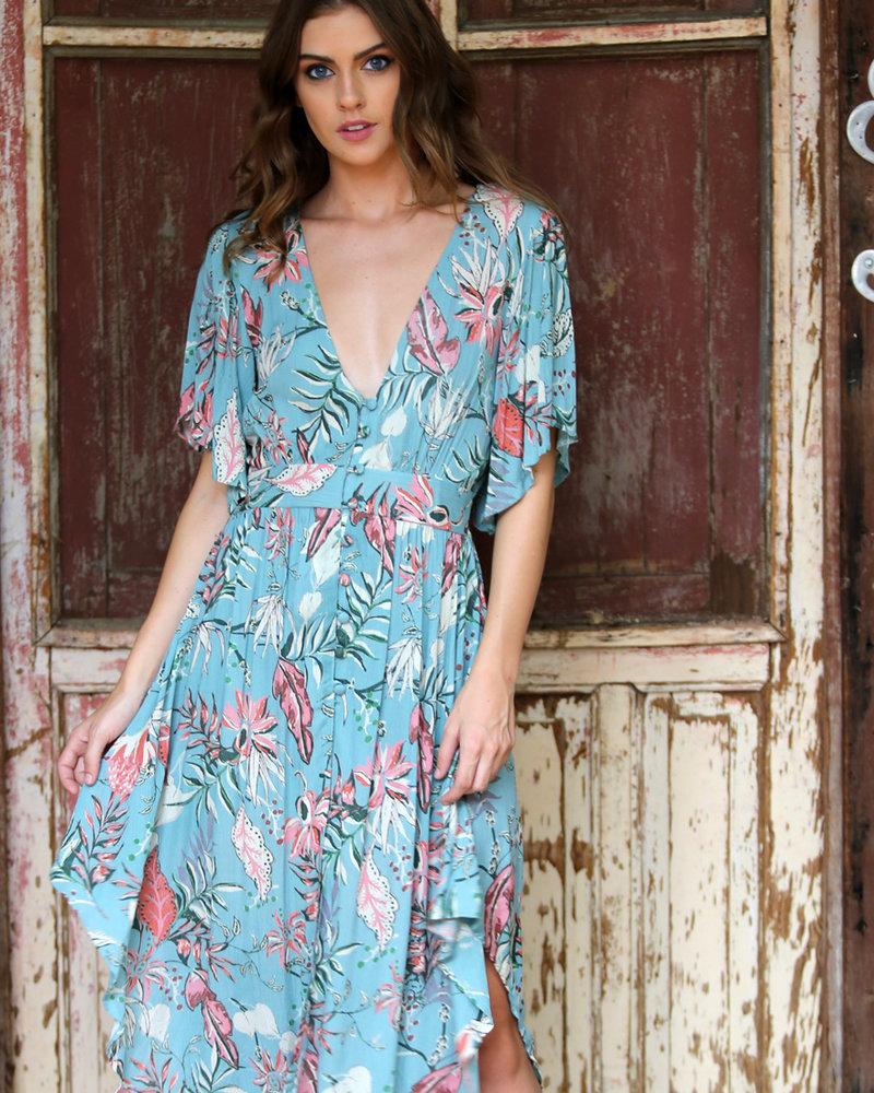 Angie Button Up Kimono (BJ610)