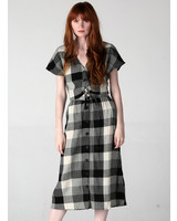 Angie Plaid Skirt (26N26)