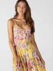Angie Scarf Hem Midi Dress (B4Y82)