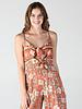 Angie Tie Front Jumpsuit (Q5V19)