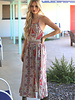 Angie Criss Cross Back Maxi Dress (B4QQ7)