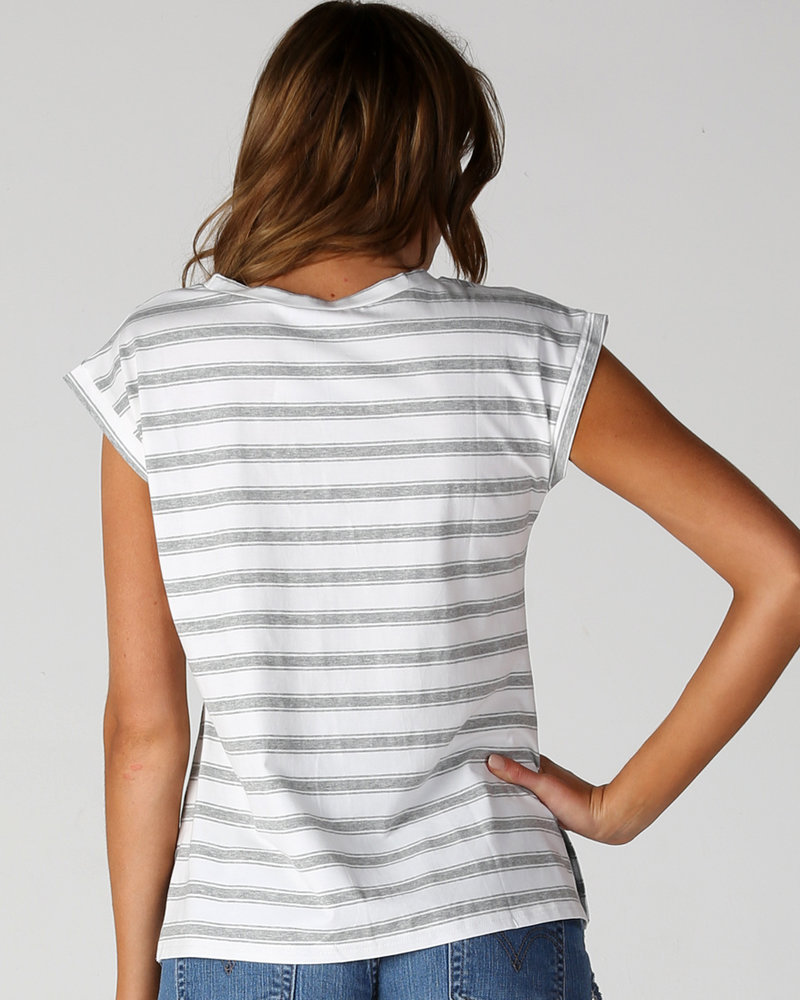 Angie Striped T Shirt (X2V31)
