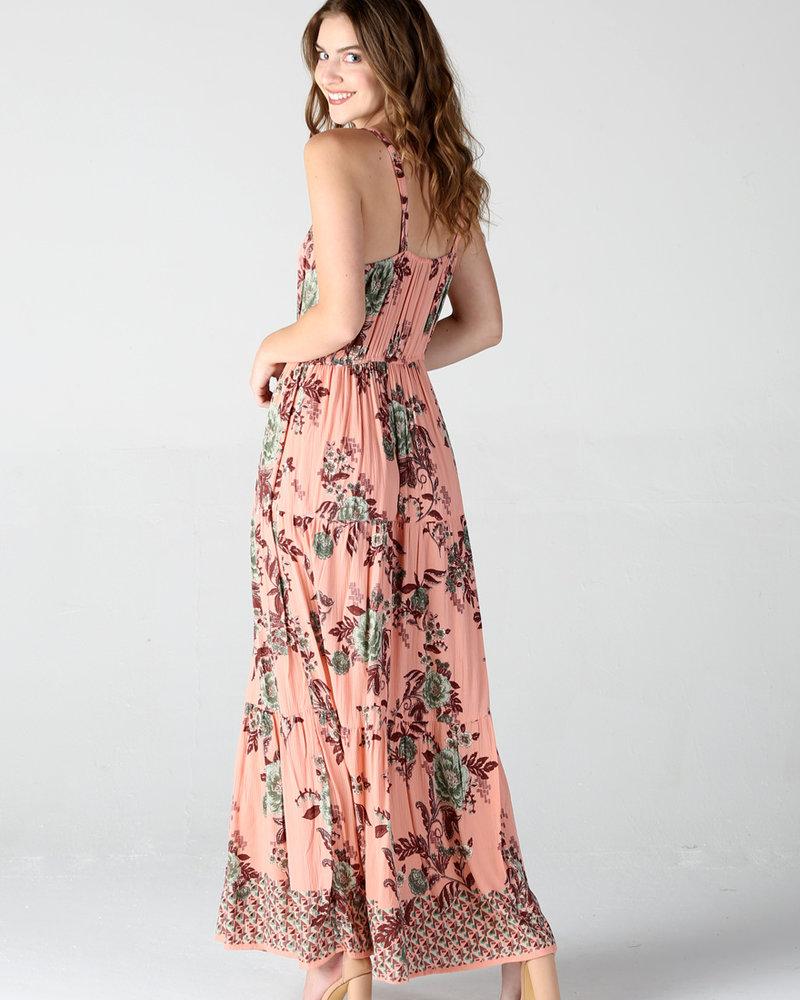 Crochet Trim Dress (B4RR7)