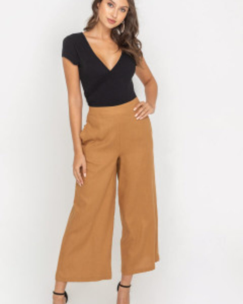LUSH Wide Leg Tunic Pants (P6707-CI)