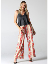 Angie Wide Leg Pants with Self Tie (25C71)