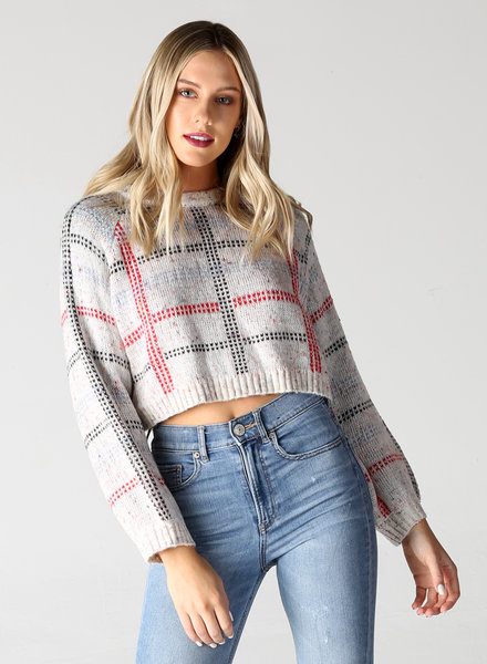 Angie Crop Pullover (XHF86)
