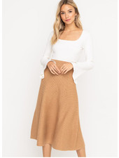 Lush Knit Skirt (LS30584-CI)