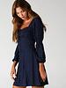 Angie Long Sleeve Polka Dot Dress (F4C65)
