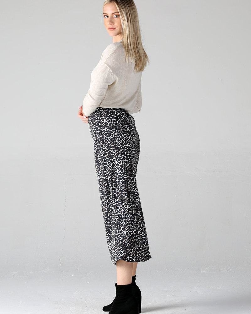 Angie Cheetah Print Skirt (26N73)