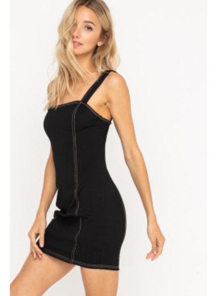LUSH Bodycon Mini Dress (LD42849-CI)