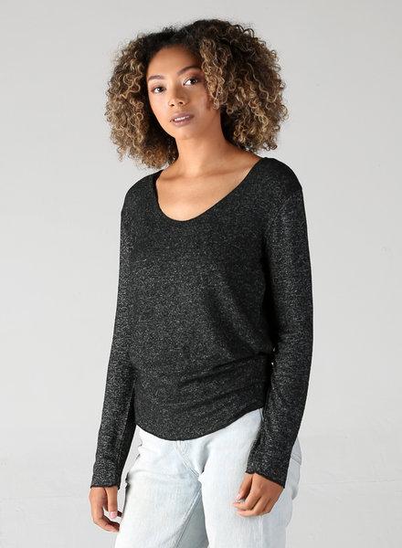Angie Hatchi Long Sleeve Top (X2AC1)