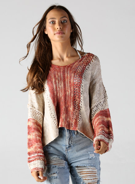 Angie Crop Pullover (XHE55)