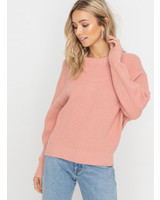 Lush Solid Knit Sweater (LT13861-CL)