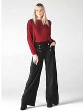 Angie Two Rows Of Buttons Corduroy Pants (25R15)