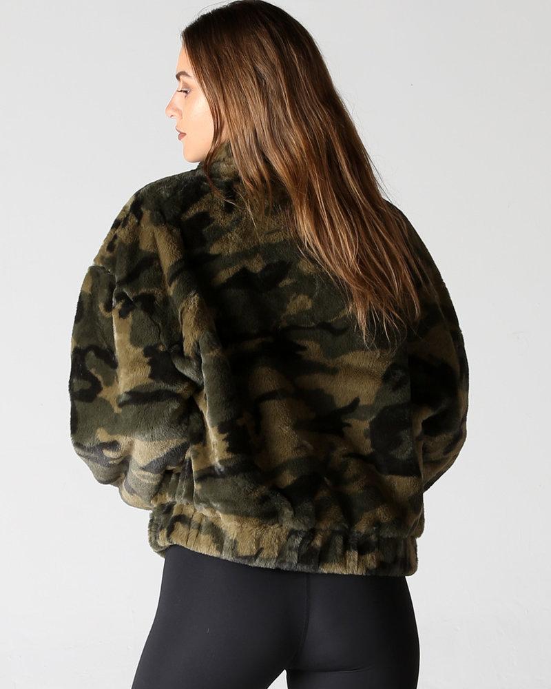 Angie Camo Velvet Jacket (SJ950)