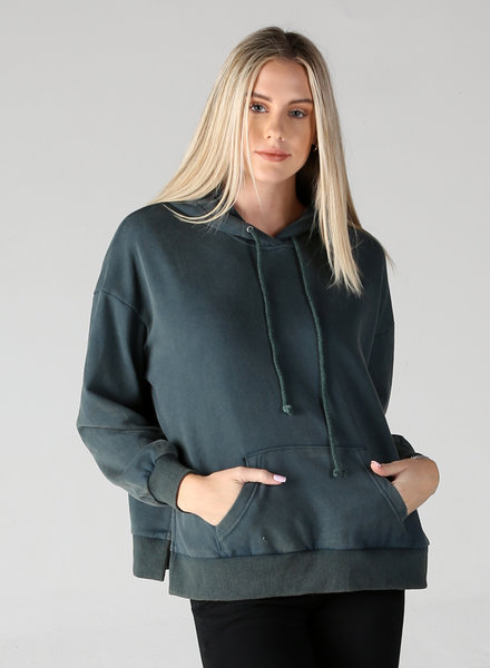 Angie Mineral Wash Hoodie (XHG19)