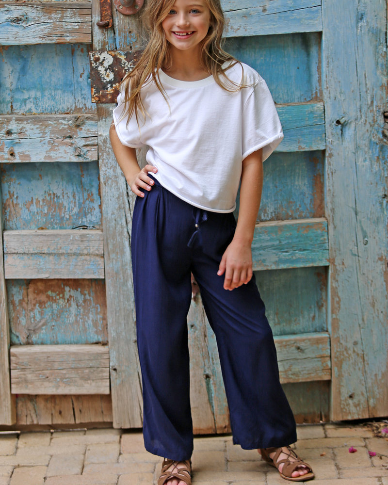 Angie Girl Angie Girl Wide Leg Pants With Tassel (K5C45)