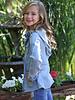 Angie Girl Angie Girl Vintage Wash Light Jacket (kJ629)