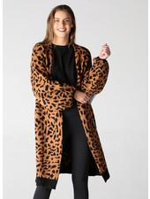 Angie Cheetah Print Sweater (XHG14)