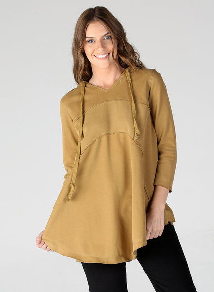Angie Hoodie with A-Line & Seams (XHD45)