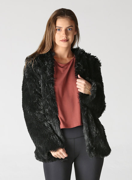 Angie Faux Fur Short Coat (SJ902)