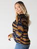 Angie V-Neck Chenille Pullover (XHF38)