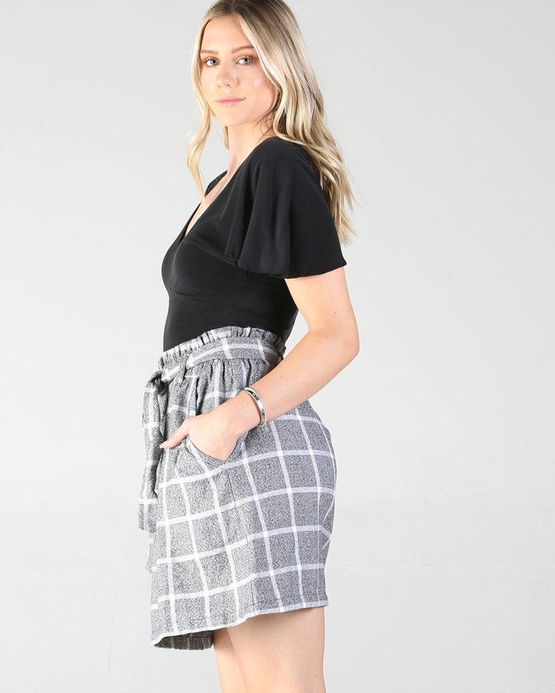 Angie Paperbag Skirt (B6750)