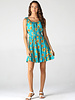 Angie Smocked Waist Tank Dress (F4D10)