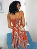 Angie Spaghetti Strap Dress With Ruffled Neckline (B4ZZ7)