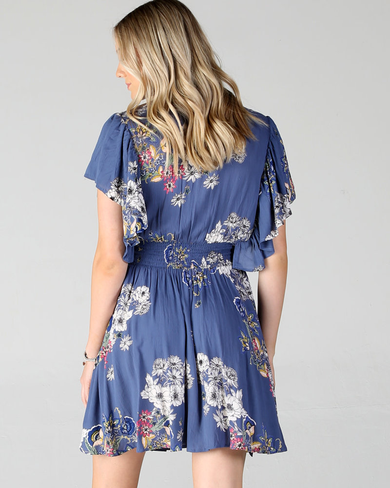 Angie Floral Dress (Z4001)
