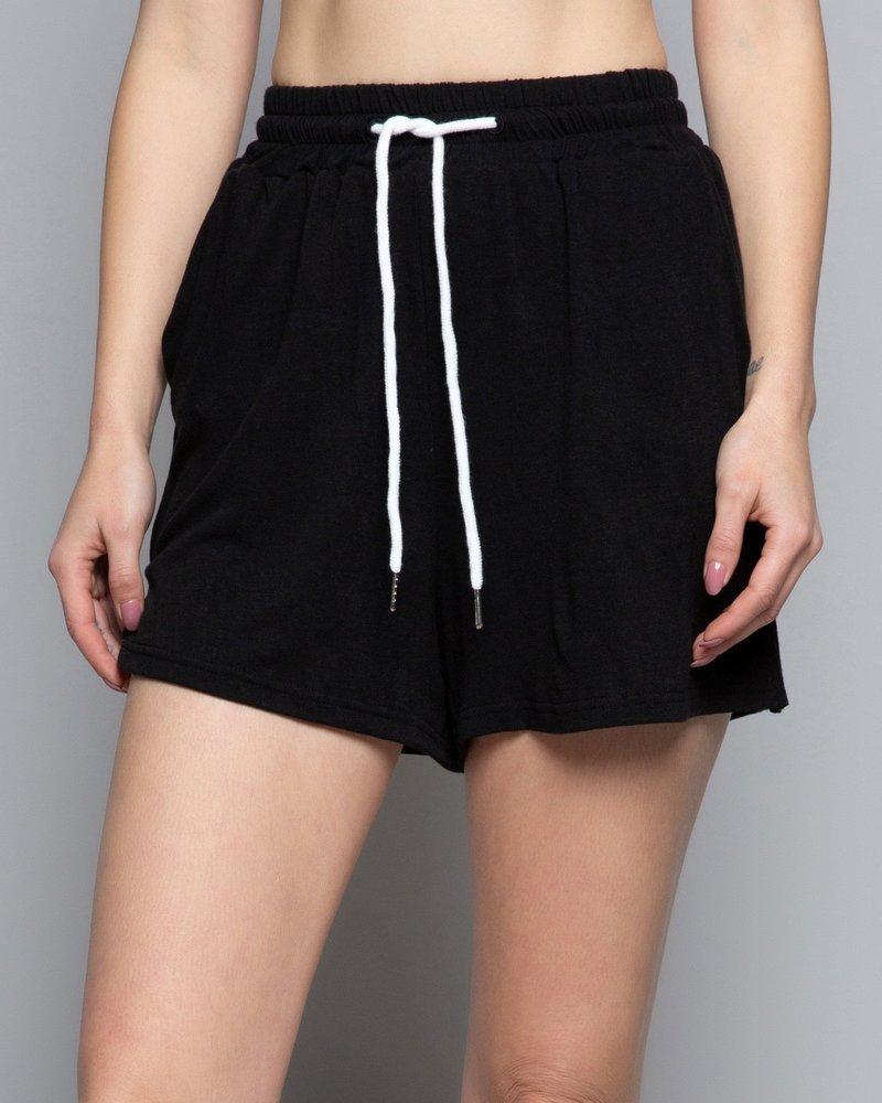 POL Tie Waist Soft Shorts (SMP263)