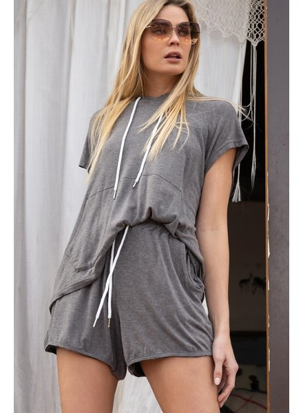 POL Soft Shorts with Raw Hem (SMP270)